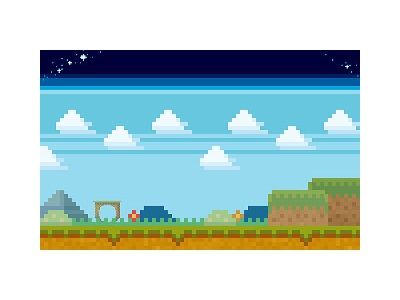 Pixel Art Game Background Example 320x200 jpg #4800
