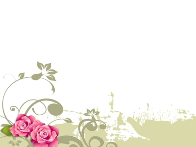 Powerpoint Background Flower Flower Backgrounds For