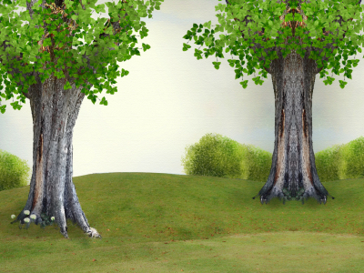 Powerpoint Backgrounds Tree Protection Of Nature And The Trees For