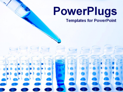 PowerPoint Template Background Of Testing, Lab, Science
