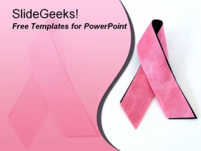 PowerPoint Templates Communication People Breast Cancer PowerPoint