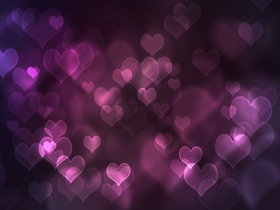 Purple Hearts Design Purple Background Wallpapers  Purple Background   #3857