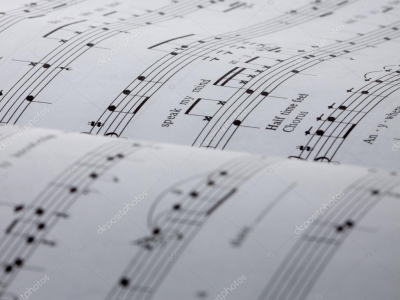 Sheet Music Background — Stock Photo © Ijdema #11949605