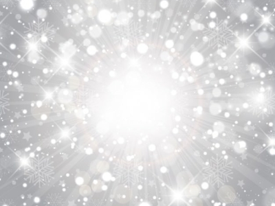 Silver Glitter Background With Sparkles