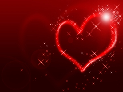 Sparkling Heart Wallpaper  76634