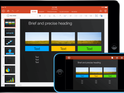 Templates For PowerPoint For IPad, IPhone, And IPod Touch  Made For