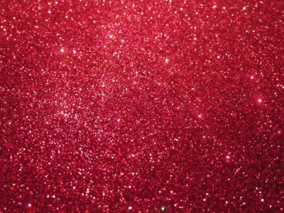 Twinkling Red Glitter Background