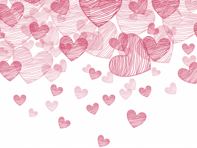 Valentine Hearts Background 02 02 Png
