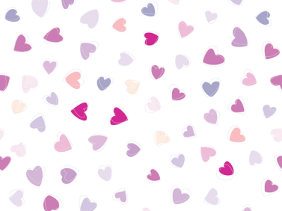 Vector Scribble Hearts Background Transparent 01 By Dragonart Png