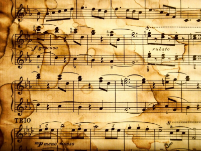 Music Notes Sheet Music With Notes Music Note Clip Art Backgrounds