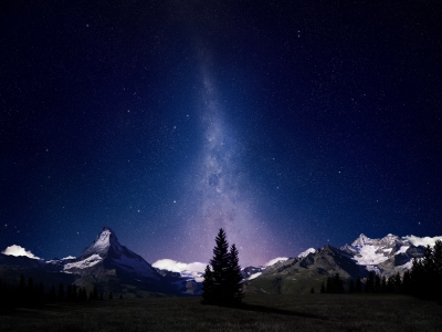 Night Sky Wallpaper Swiss Alps Night Sky Wallpapers Hd Wallpapers
