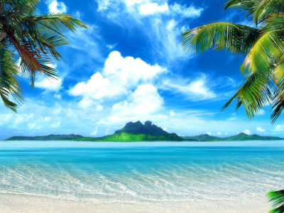 : The Wallpaper Above Is Tropical Beach Background Wallpaper