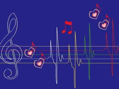 Abstract Musical Notes Backgrounds  Abstract, Music  PPT Backgrounds