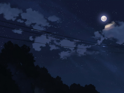 Anime Night Sky Background Download Anime Night Sky Wallpaper 5776