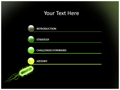 Bacteria PowerPoint Templates And Backgrounds