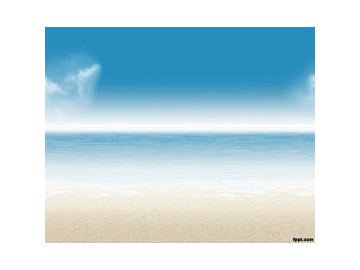Beach PowerPoint Template Background