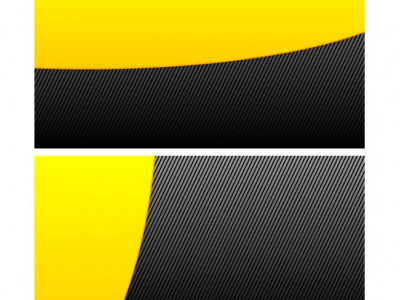 BLACK AND YELLOW DESIGN  Download at Vectorportal #7824