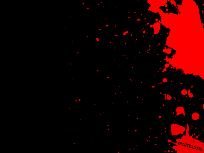 Blood Splatter Black Background Blood splatter wallpaper by #7095