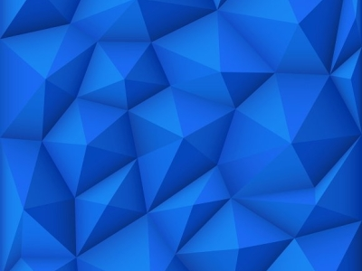 Blue mosaic polygon background ~ Graphics on Creative Market #6939