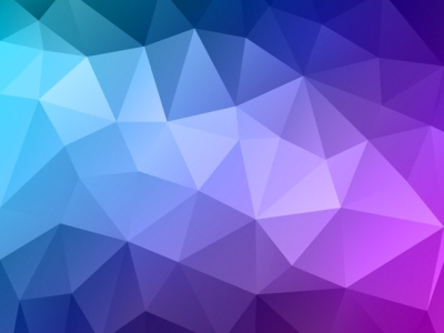 Blue Polygon Background vector #6893