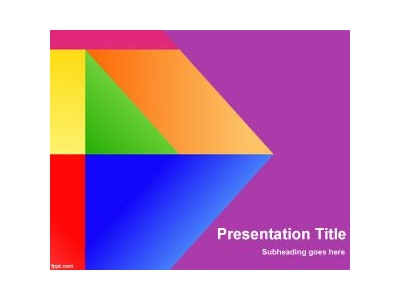 Free Colors of Google PowerPoint Template #7456