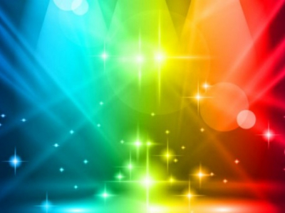 Multilored lights party background Vector  Free Download #7334