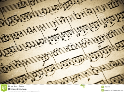 Music Notes Background Royalty Free Stock Photography  Image: 4181617