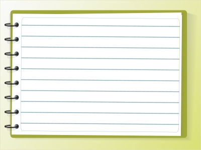 Notebook Paper Background For Powerpoint  Clipartsgram