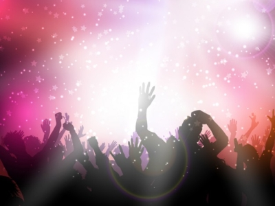 Party background with pink lights Vector  Free Download #7338