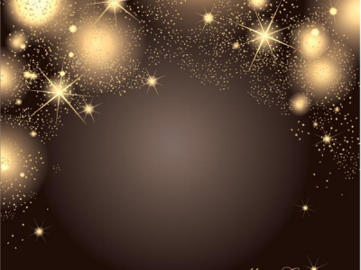 Free  Vector Glowing Star Pattern Christmas Elegant Background