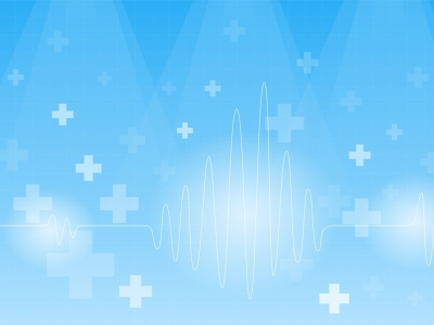 On A Blue Backgrounds  Blue, Health, Medical, White  PPT Backgrounds