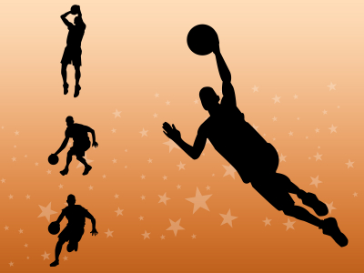 Basketball Players Backgrounds  Sports  PPT Backgrounds