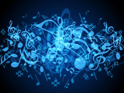 Blue Music Notes Background Hd Images 3 HD Wallpapers #9089