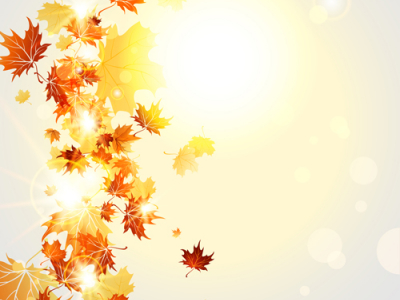 Bright autumn leaves vector backgrounds 07  Vector Background, Vector   #8260