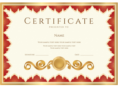 Certificate Backgrounds Educational PPT Backgrounds