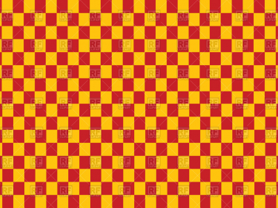 Checkered Yellow And Red Background, 89463, Download Royalty