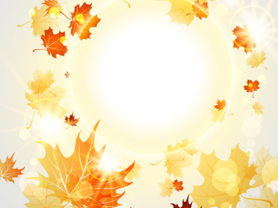 Fall Leaves Background Powerpoint fall leaves background vector   #8225