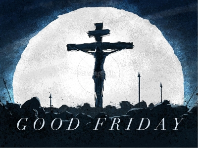 Good Friday Crucifixion Church PowerPoint  Easter Sunday Resurrection