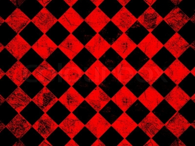 Grunge Red Checkered Abstract Background Image 2373574