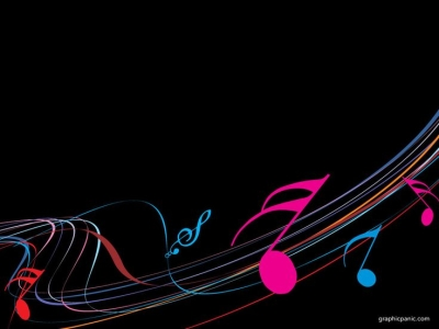 Keynote Backgrounds  Music PowerPoint Background  PowerPoint   #8961