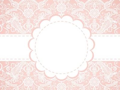 Pink Lace Backgrounds Vector old lace background #8562