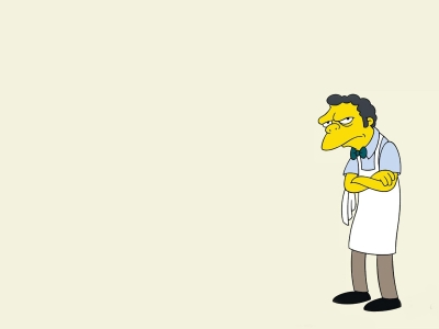 Simpsons Cartoon Design Free PPT Backgrounds For Your PowerPoint