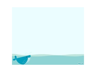 Whale PowerPoint Template PPT Template