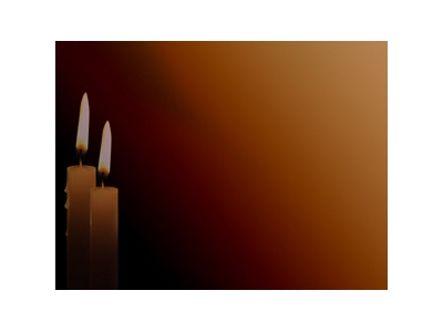 Candle Beauty PowerPoint Templates And PowerPoint Backgrounds