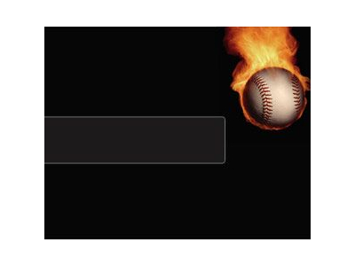 Powerpoint Templates, Baseball Fire, Ppt Templates, Sports Powerpoint