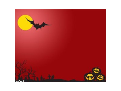 Bat Powerpoint Template Halloween Night Powerpoint Template Halloween