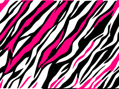 Black And White Zebra Print Background Clip Art At Clker   Vector