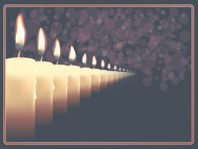 Candles Ar In Que Backgrounds  Religious  PPT Backgrounds