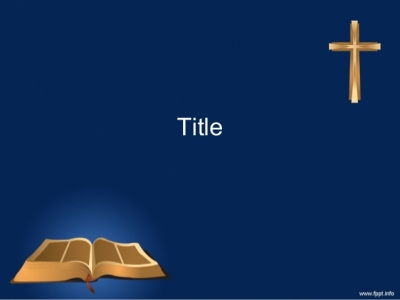 Christian Backgrounds: Powerpoint Template Holy Bible Background #9468