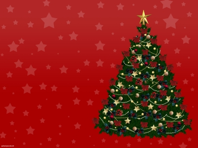 Christmas Tree Powerpoint Backgrounds Free New Year Christmas Tree